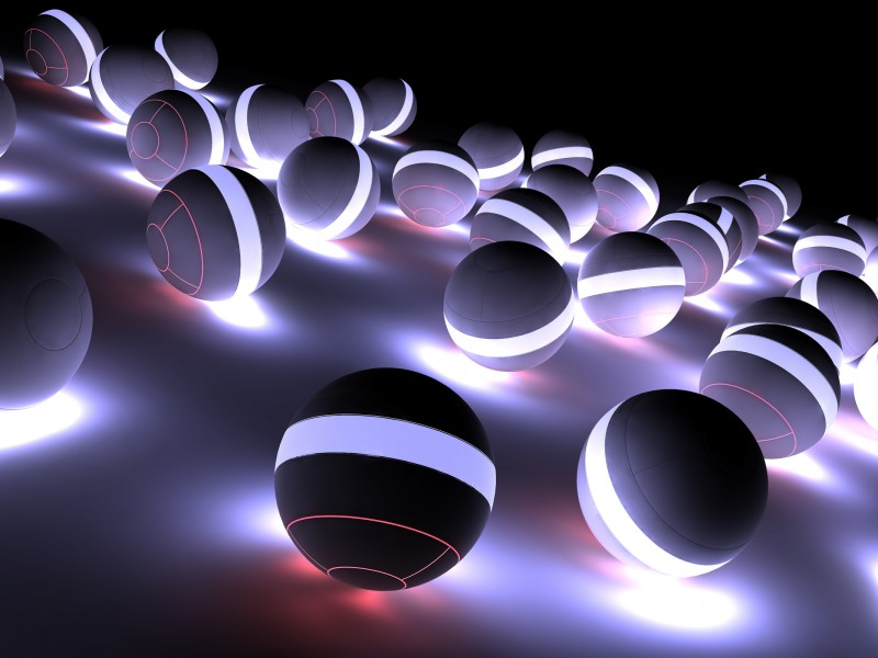 Balloons Neon Light Bright Shadow 68599 2560 1600 Hd Wallpapers