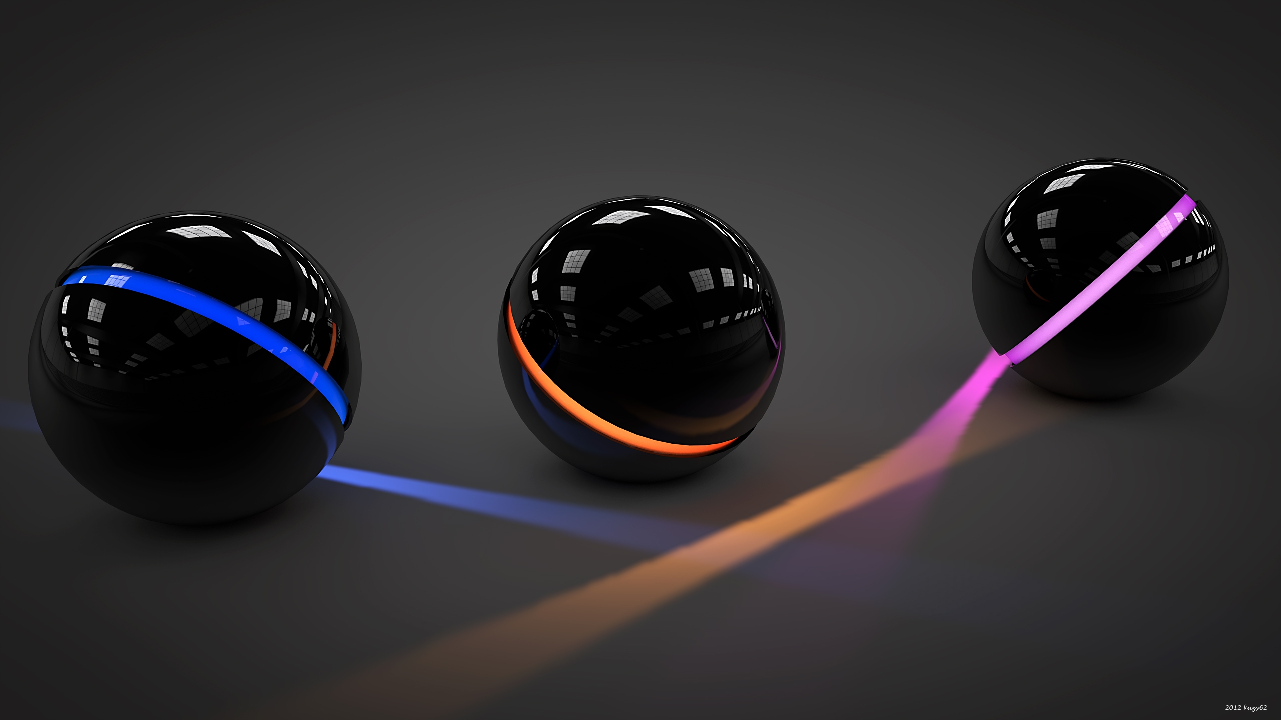 Balls Light Glass Neon 81360 2560 1440 Hd Wallpapers Download